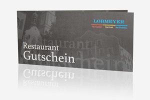 restaurant gutschein Gasthof Lobmeyer Roding